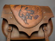 Packväska i läder